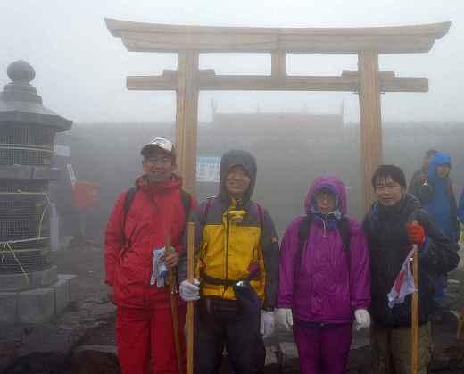 富士山頂2012
