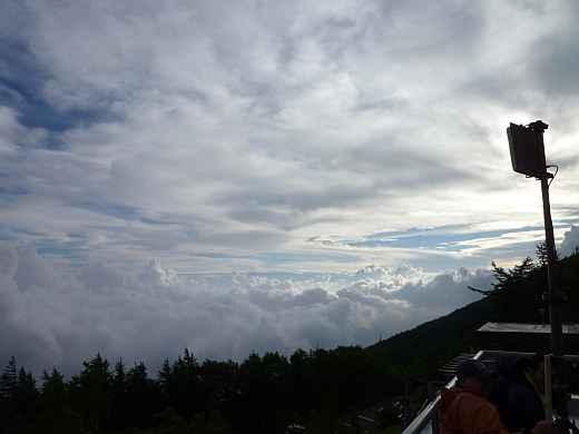 五合目の雲海