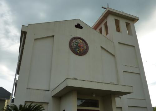 紀伊長島教会正面