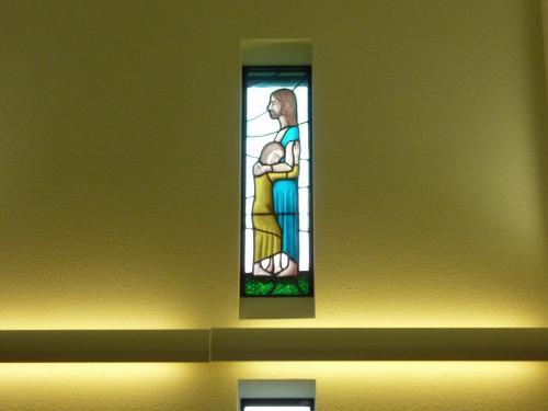 鵜方教会ステンドグラス