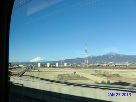 20130127新幹線富士山①