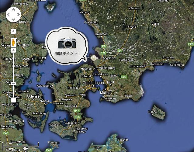 skoneらへんの地図