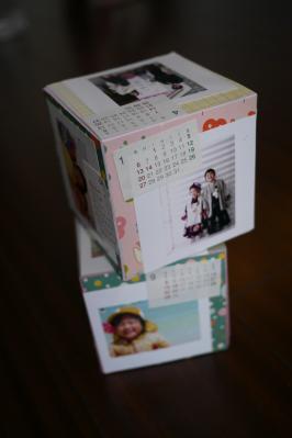 キュービックカレンダー2
