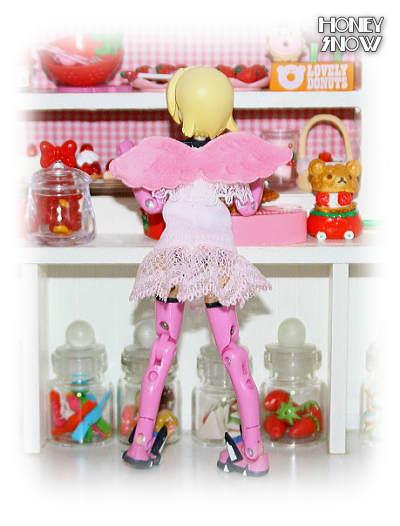 1/12DOLL 【天使のワンピ】 服 武装神姫、figma、リボルテック、オビツ11、ピコニーモ