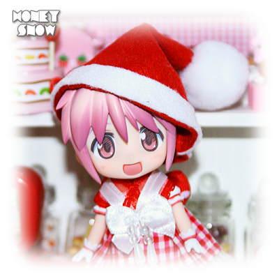 1/12DOLL 【ドレスワンピ】 ねんどろいど向け クリスマス