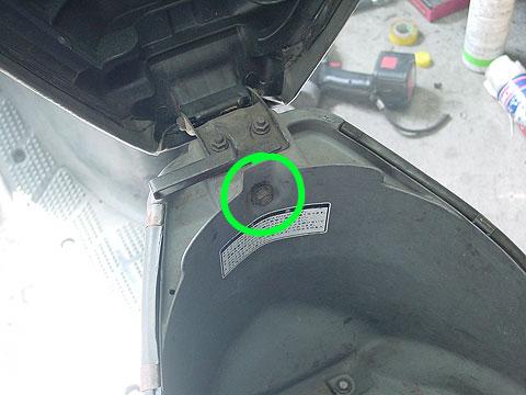 タクト AF16 TACT メットインボックス