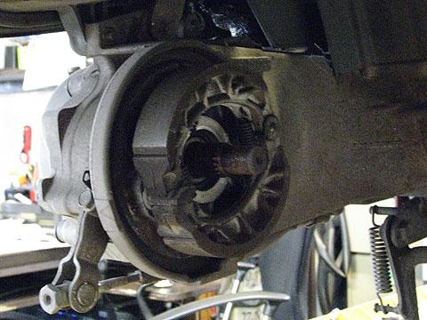JOKER ジョーカー AF42 HF09 ブレーキシュー Rホイール