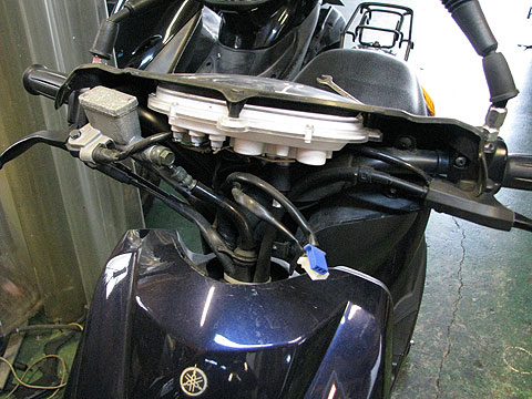 SA36J ジョグ JOG ヘッドライトアッパーカバー