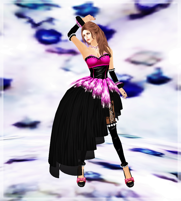 S.MSnow Dress Pink boxa