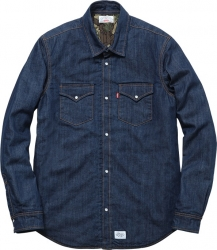 Levi's Supreme Denim Quilted Shirt