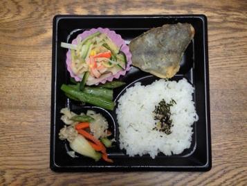 ぶっかけ(冷)小&お弁当のセット500円