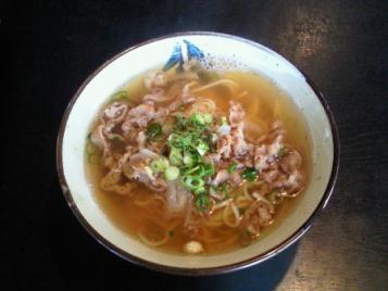 肉中華そば(1玉)420円