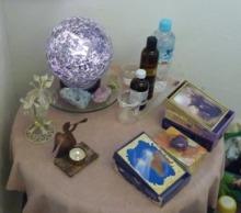 Seraph Natural Garden ★ 天使とアロマの癒しと導き-テーブル2