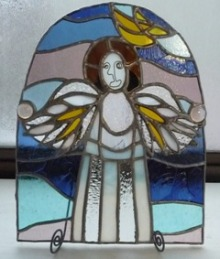 Seraph Natural Garden ★ 天使とアロマの癒しと導き-天使のステンドグラス