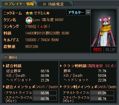 100000万キル達成★