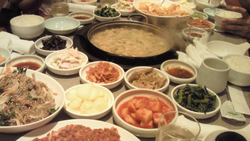 7月6日:韓国料理