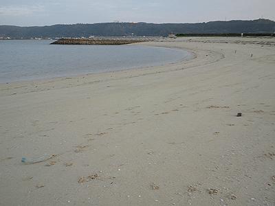 馬天のビーチ