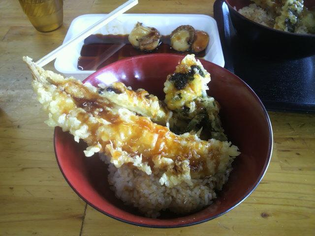 穴子丼P1000299
