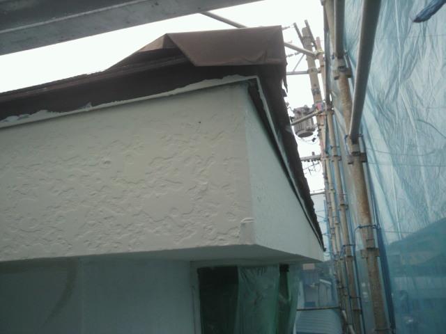 6月1日破風軒天塗装仕上げ完了P1000346