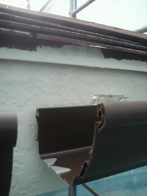 6月9日雨どい工事P1000029