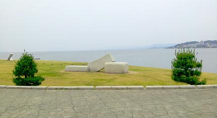 宍道湖一望
