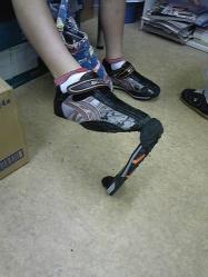 タケちんの靴