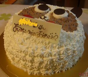 9才のケーキ①