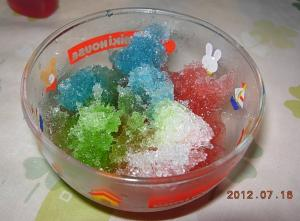 ミックスかき氷