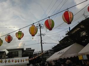 夏祭り(井)