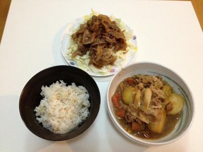 晩御飯10