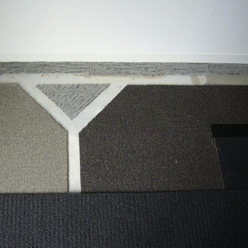 Yカーペット配線