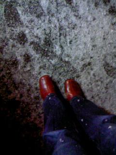 冬靴出しました2012