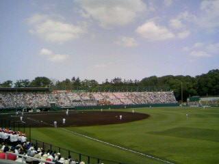 7/21円山球場にて準決勝第2試合