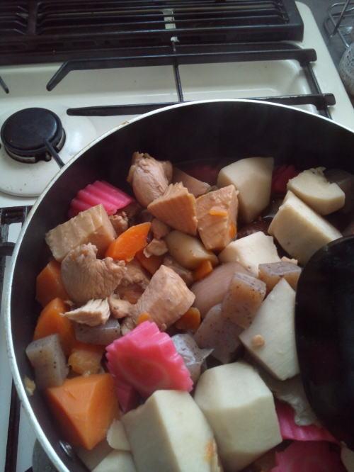 はじめてのうま煮♪