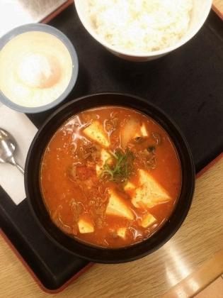 豆腐キムチチゲセット2
