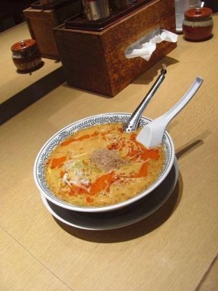 丸源ラーメン、期間限定白胡麻坦々麺2