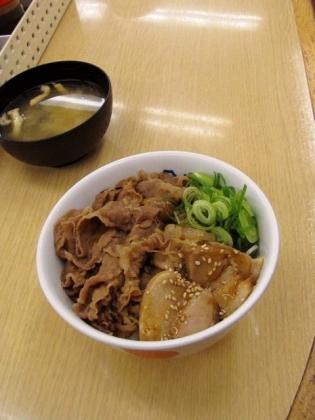 松屋、豚角煮コンボ牛めし(並)1月16日(木)10時より。1