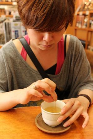 まりちゃんと昆布茶