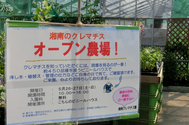 湘南クレマチス園 オープン農場
