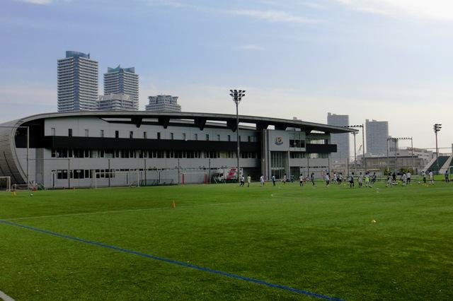 横浜F・マリノス みなとみらい21 トレーニングセンター