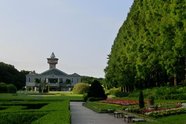 神奈川県立相模原公園のグリーンハウス