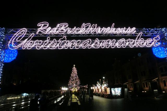 Christmas Market in Yokohama Red Brick Warehouse 2012