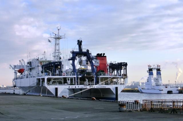 海洋調査船「かいよう」