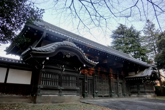 旧因州池田屋敷表門(黒門).