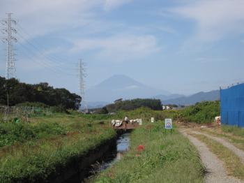 富士山だ。