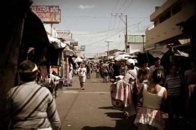 Mercado de Usulutan ウスルタン