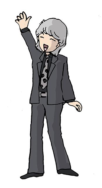 長髪お手振りさんS02