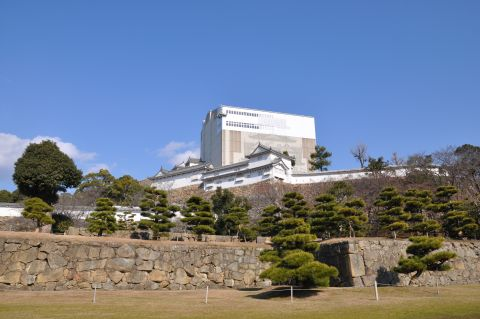 平成25年正月の姫路城