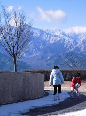 いつもの公園(2013年1月)