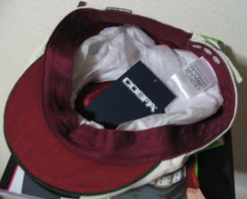 公式の虎徹ハンチング帽3個目_2
